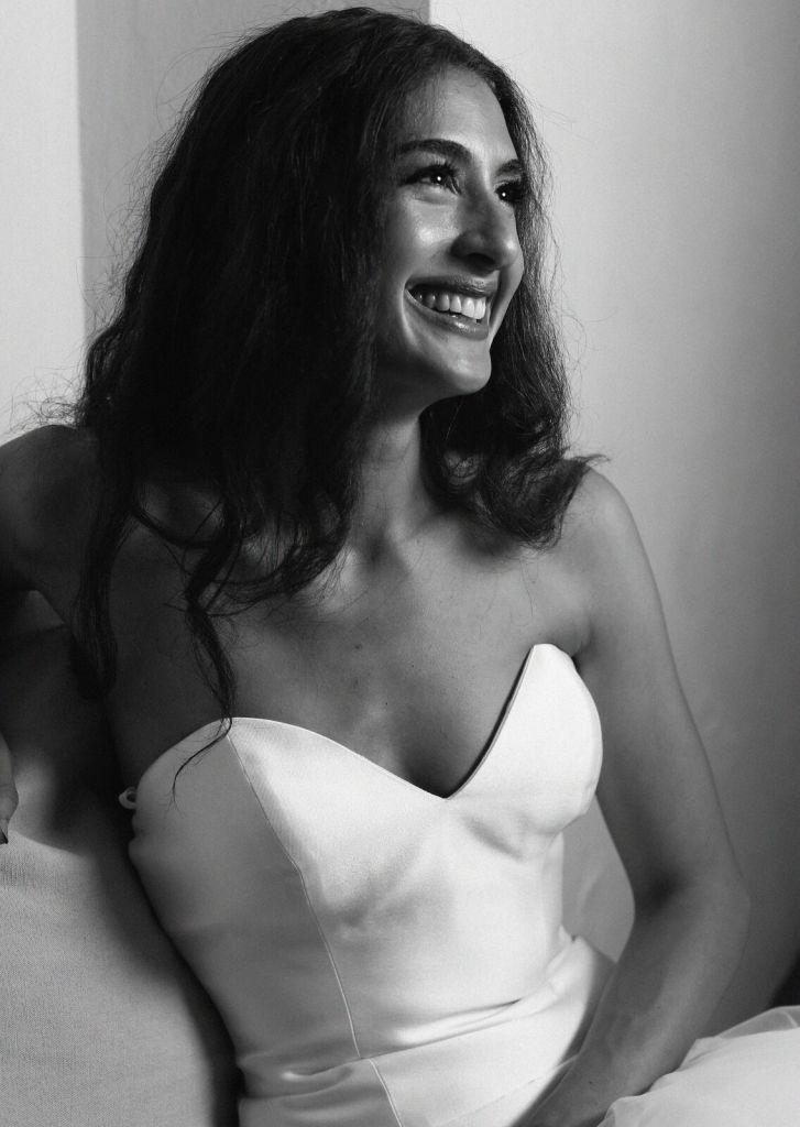 spirit pittsburgh pa wedding bride smiling photo