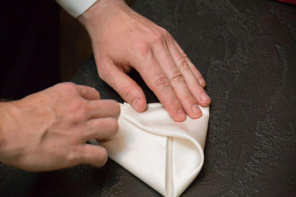 spirit pittsburgh pa wedding folding handkerchief photo