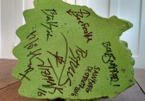 Baby Gor Gor base (autographed)