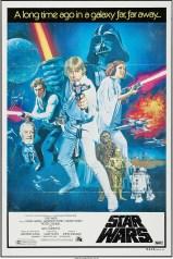 Star Wars australian one-sheet poster by Tom Chantrell