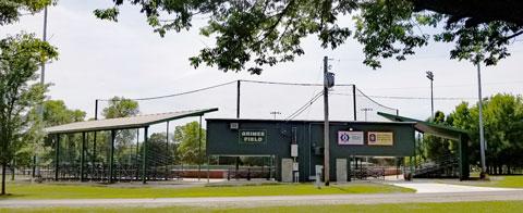 Grimes Field in Mattoon, Illinois
