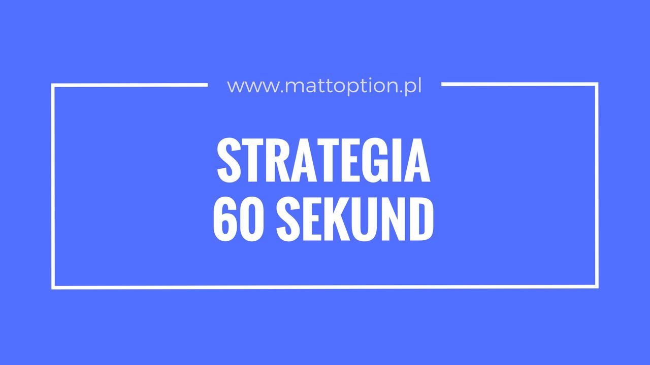 új stratégia 60 másodpercig
