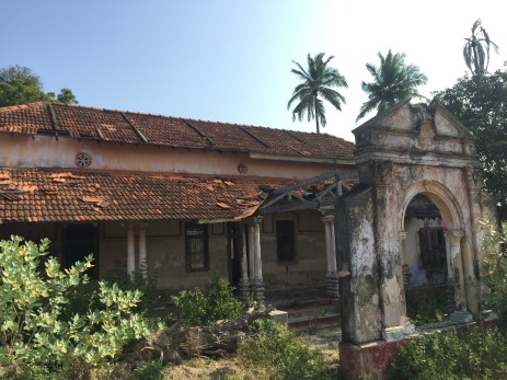 Abandoned house in Jaffna