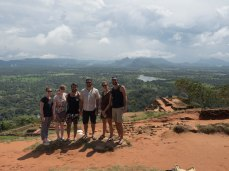Team shot at Sigiriya