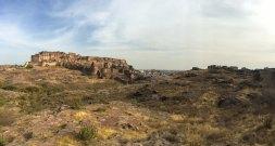 Mehrangarh Fort from Rao Jodha Desert Rock Park, Jodhpur