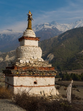 One on the many Stupas that were dotted through the landscape in very remote places