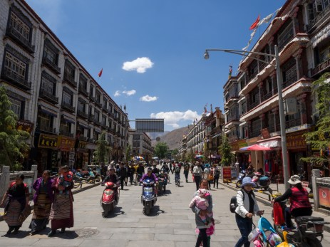 The old town of Lhasa