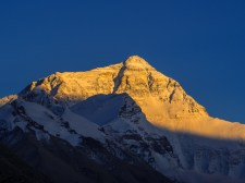 Sunset over Mt Everest