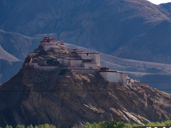 The Gyantse Dzong (fortress)