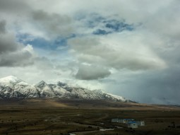 The scenery of the Tibetan Plateau from the Qinghai-Tibet railway