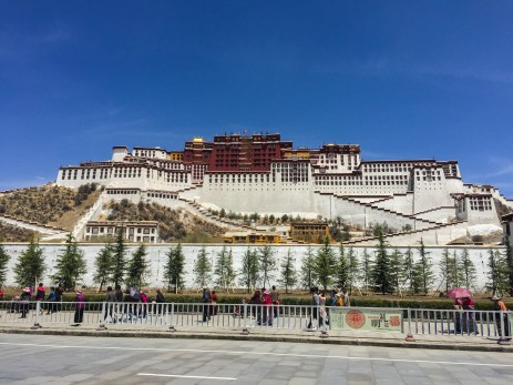 The spectacular Potala Palace