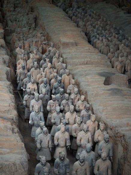 Pit one of the Terracotta Warriors