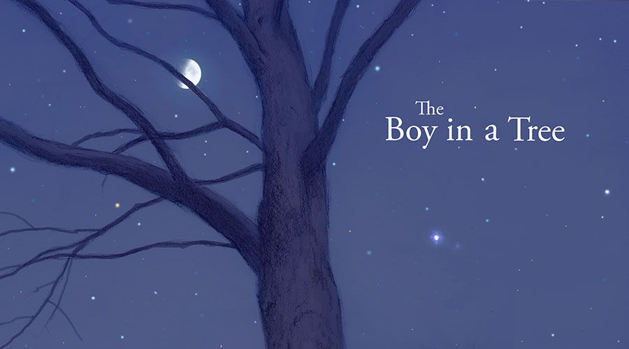 """The Boy in a Tree"" Intro Page 1"