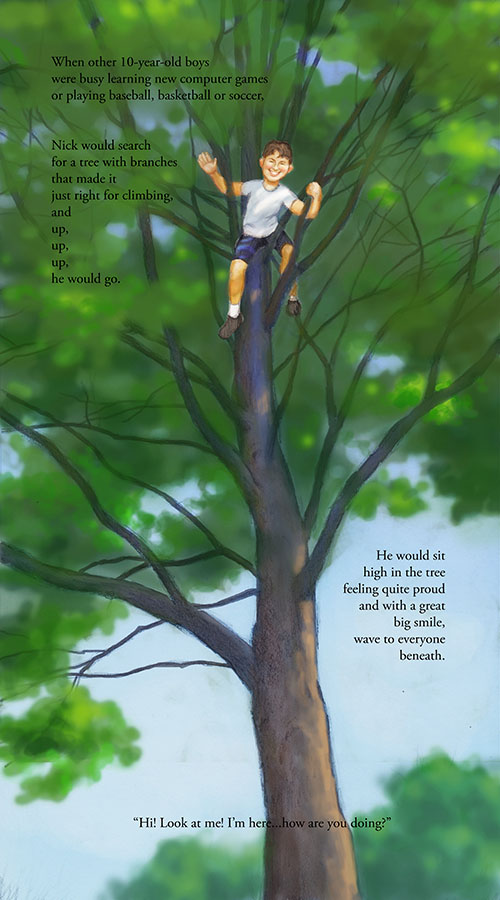 special needs, cognitive disabilities, tree climbing