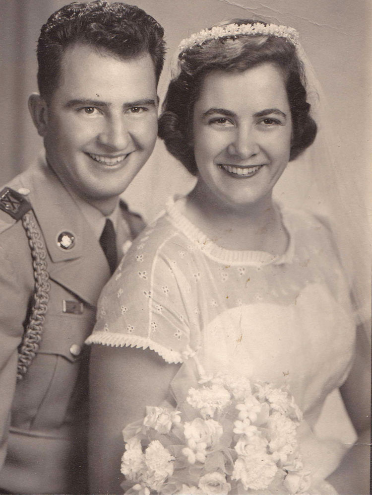 1950's wedding photos