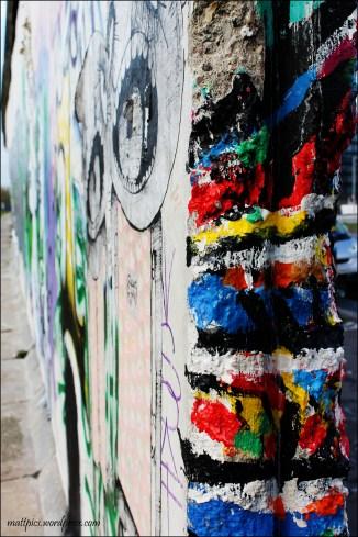 Muro de Berlín, los colores unen