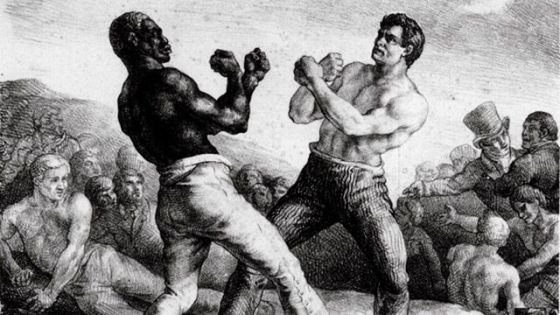 Fighters Molineaux and Cribb face off in 1810