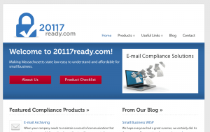 20117ready.com Business Compliance Initiative