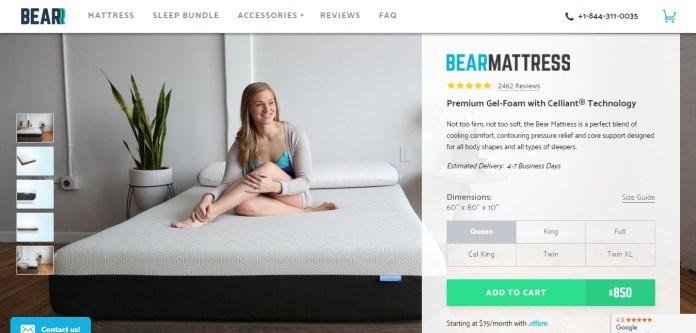 bear mattress - best quality of mattress