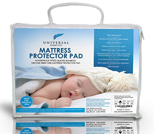 1 Best Crib Mattress Protector Pad From Bamboo