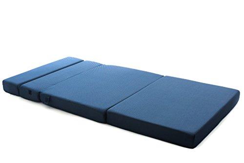 Milliard Tri Fold Folding Mattress Sofa Bed Twin Xl 78
