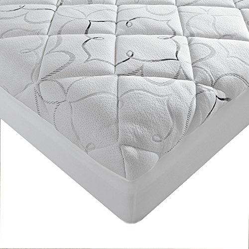 Sleep Innovations Instant Pillow Top Memory Foam And
