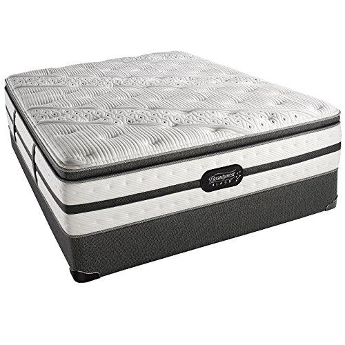 beautyrest black evie plush pillow top cal mattress