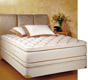 royal pedic queen size pillowtop mattress w box spring