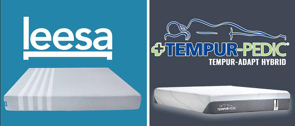 Tempurpedic vs Leesa Mattress