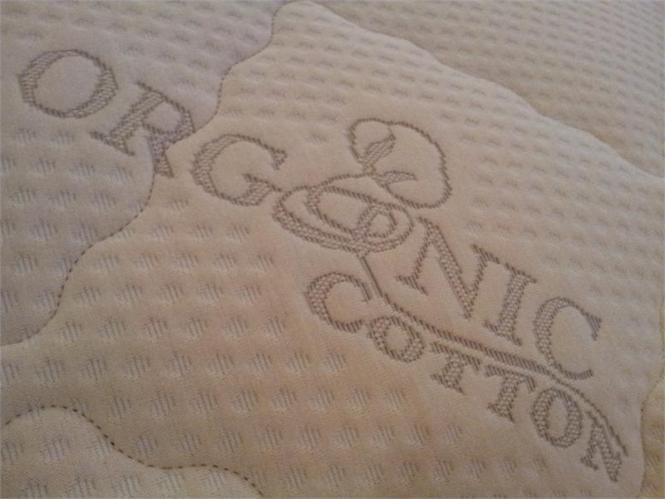California King Organic Zipper Mattress Cover For Hardside Waterbeds