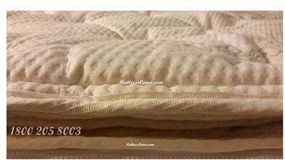 Organic Cotton Pillow Top For Latex Mattress