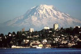 Tacoma, Washington Mount Rainier view