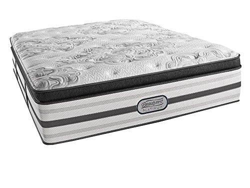 beautyrest simmons recharge platinum gabriella plush pillow top mattress air cool gel memory foam pocket coil technology queen