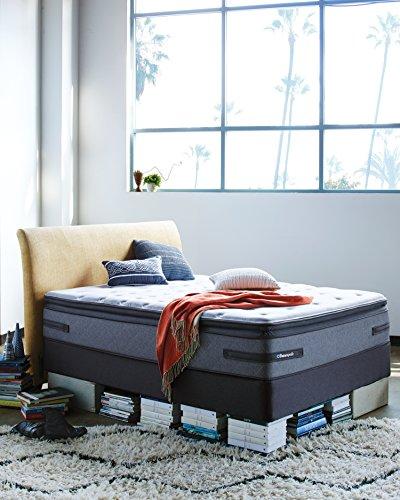 sealy posturepedic plus hickman cushion firm euro pillow top mattress king