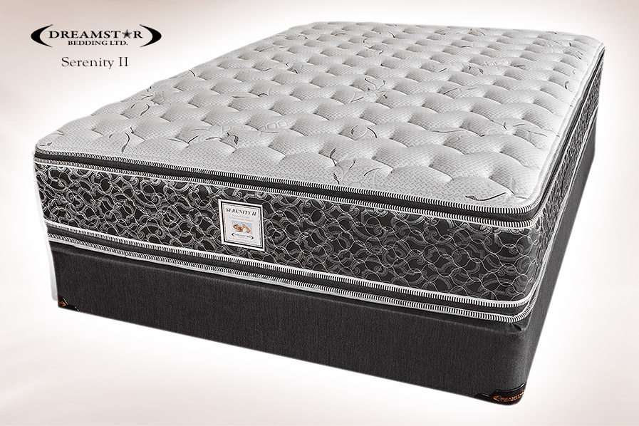 Dreamstar Serenity Ii Pillowtop Plush Two Sided Flippable