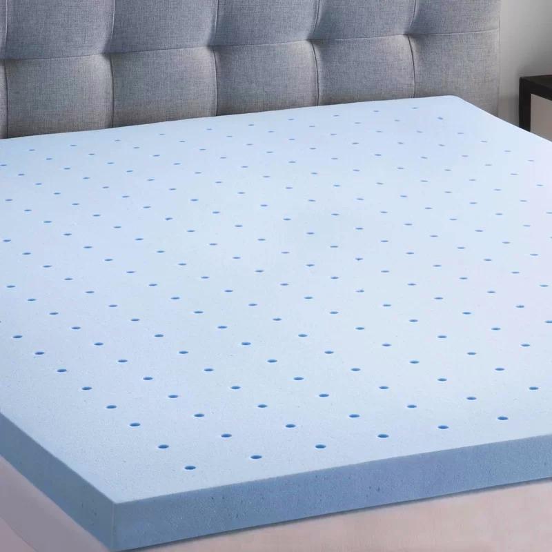 memory foam mattress topper gel infused cooling
