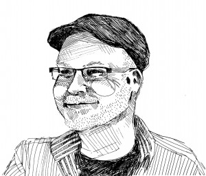 Sketch by Marisa D'Andrea. 2016.