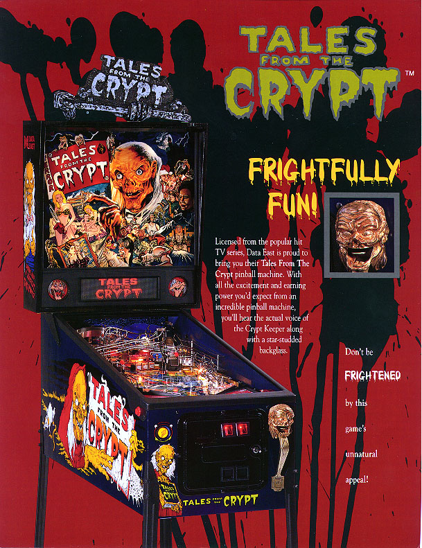 Tales From The Crypt Pinball (Data East) - ROM Upgrade chip set