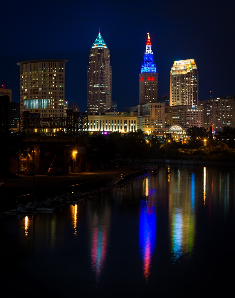 The Calm (before CLE RNC)