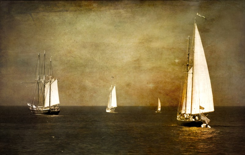 Tall Ships on Lake Erie