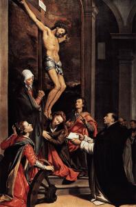 The Vision of St. Thomas by Santi di Tito
