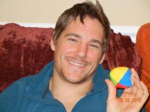 Matt with juggling ball