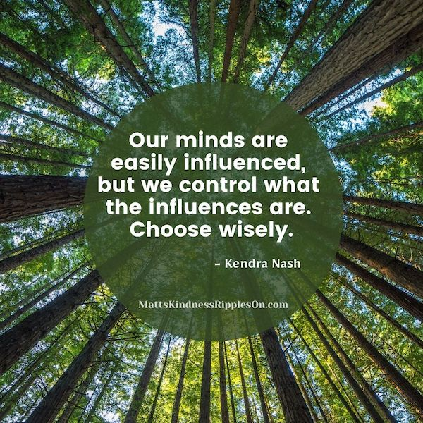 Our minds are easily influenced.