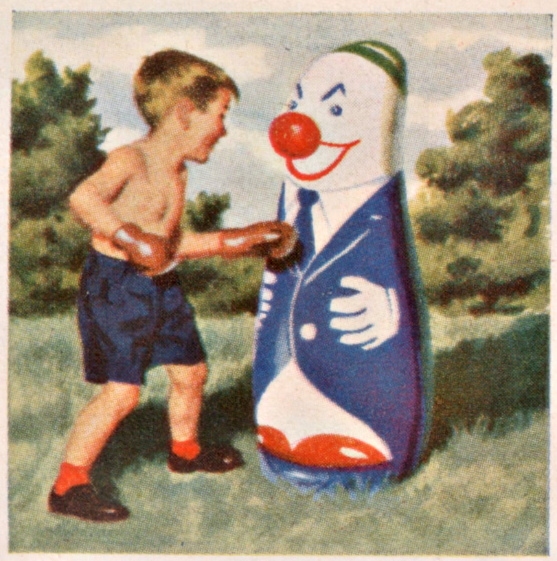 Punching A Clown Matthew S Island Of Misfit Toys
