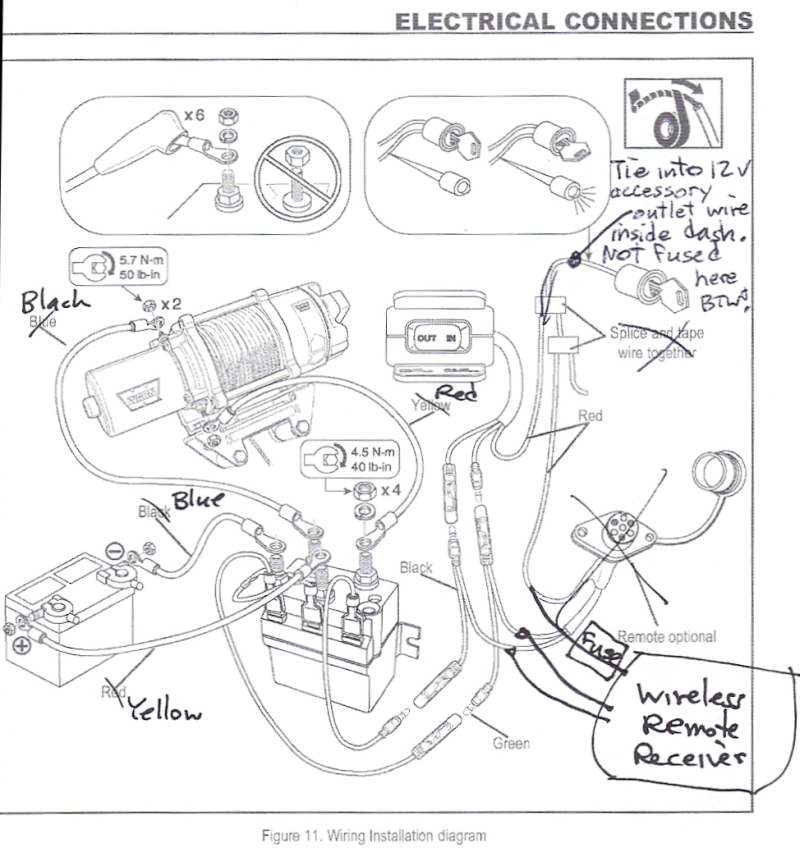 Badlands Winch Problems | Wiring Source