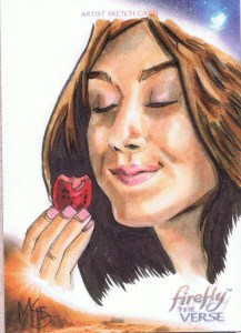 Kaylee firefly upper deck sketch card