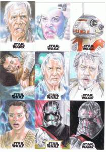 topps star wars journey to the last jedi sketch cards by matt stewart page 3