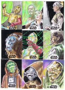 topps star wars journey to the last jedi sketch cards by matt stewart page 4
