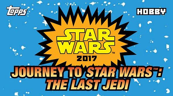 sale sheet for Topps 2017 star wars journey to the last jedi trading cards