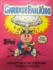 garbage pail kids 1980s book